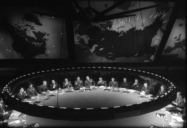 The War Room, Dr. Strangelove - 1965