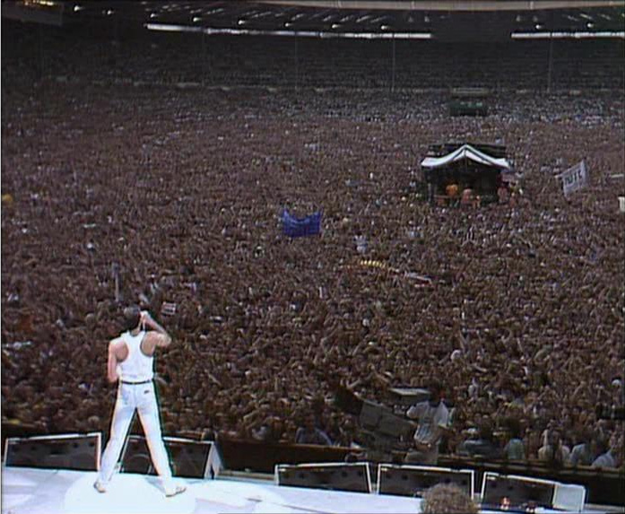 The global jukebox live aid july 13 1985 george 39 s journal for 1980 floor show dvd