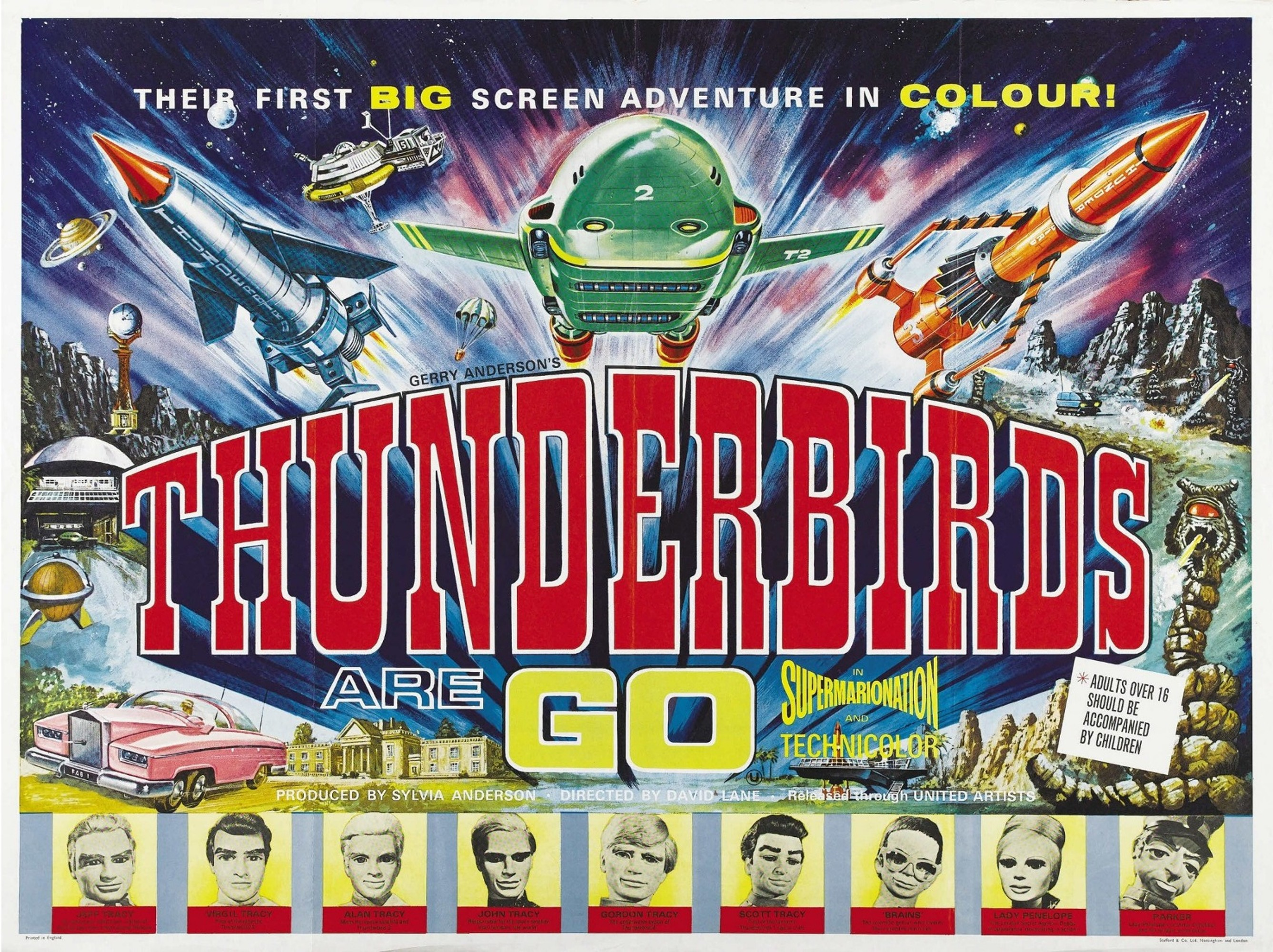 Take off or is it the thunderbirds films should have been the icing