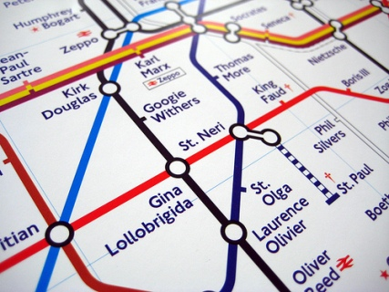 The Great Bear re-invents the tube map