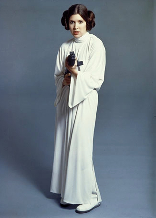 carrie fisher star wars gun point - TimeOutFilm's Top 50 Star Wars Characters and My Top Ten Star Wars Heroes!