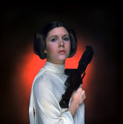 Star Wars at 35: Carrie Fisher/ Erin Gray ~ Space Babes ...