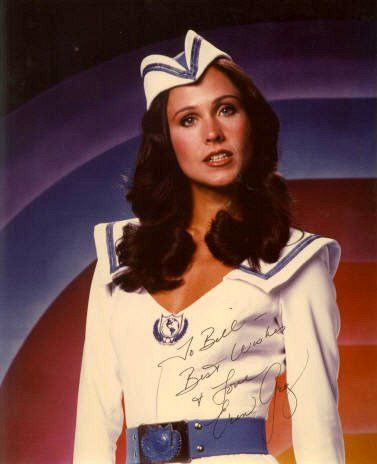 Erin gray spandex simply does