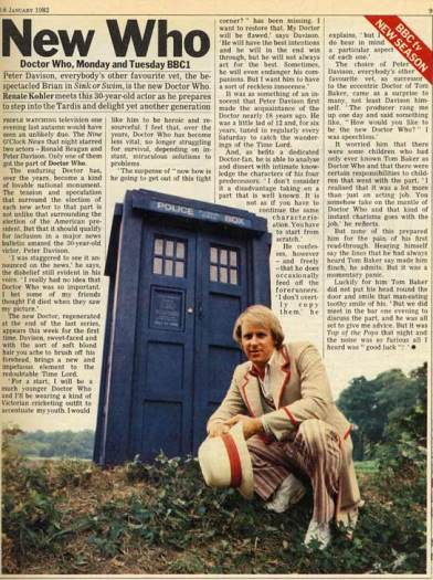 doctor_who_peter_davison_first_episode_radio_times_article_28_january_1982