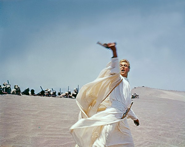 "On the Set of ""Lawrence of Arabia"""