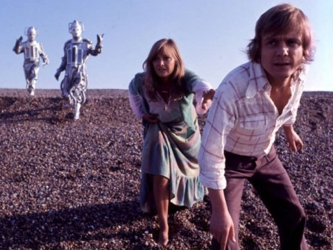 doctor_who_anneke_wills_and_michael_craze_pursued_by_cybermen