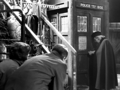 doctor_who_william_hartnell_being_filmed_in_first_ever_episode_an_unearthly_child