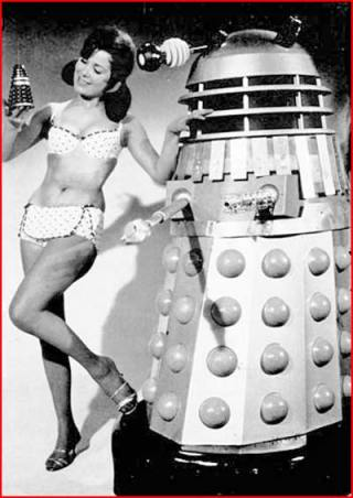 doctor_who_dalek_and_model_in_bikini_with_toy_dalek