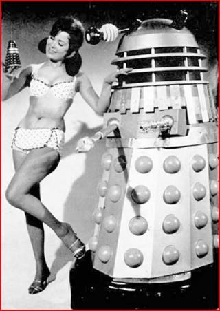 doctor_who_dalek_and_model_in_bikini_with_toy_dalek