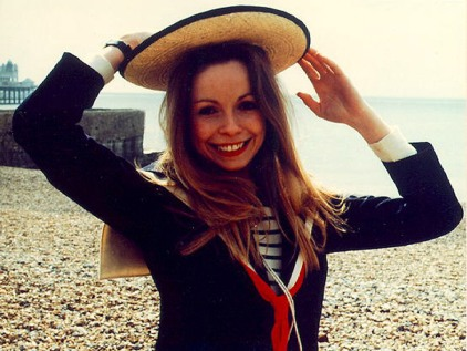 lalla_ward_smiling_on_set_on_brighton_beach