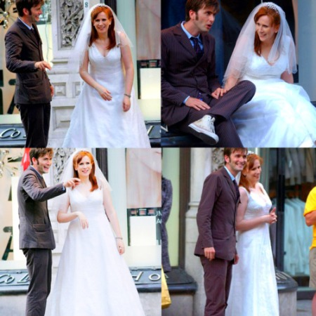 doctor_who_david_tennant_and_catherine_tate_filming_the_runaway_bride