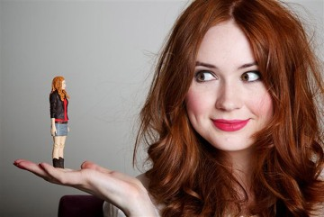 Dr Who star toys with new action figure