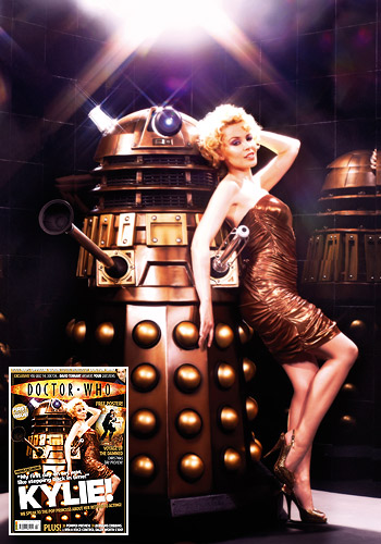 doctor_who_kylie_minogue_sort_of_recreating_katy_manning_dalek_pose_for_doctor_who_magazine_in_anticipation_of_voyage_of_the_damned