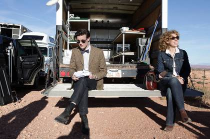 doctor_who_matt_smith_and_alex_kingston_between_takes