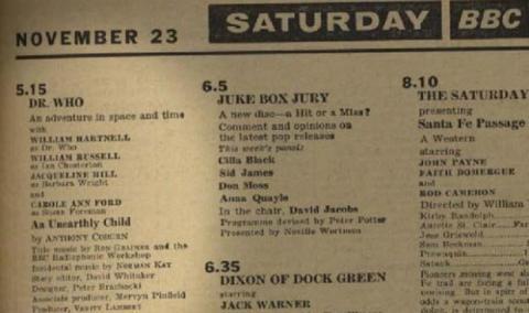 doctor_who_november_23_1963_radio_times_listing