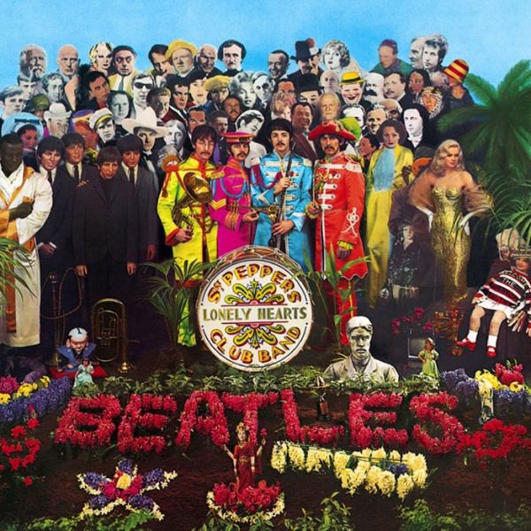 awesome_album_covers_the_beatles_sgt_pepper's_lonely_hearts_club_band