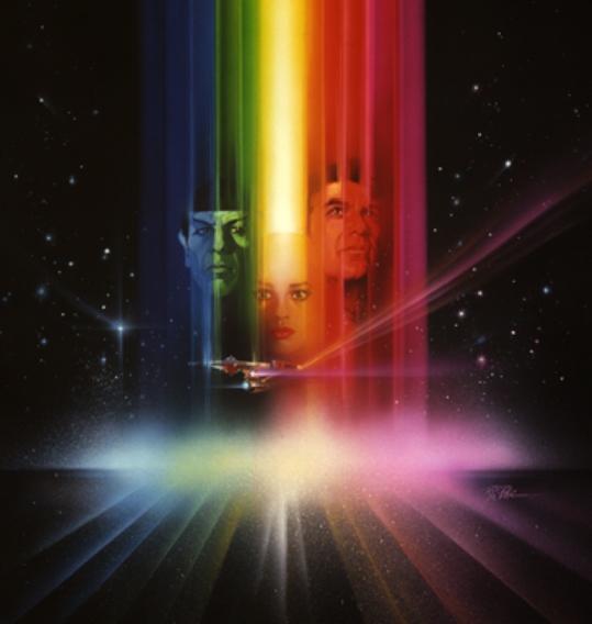 Bob Peak Star Trek The Motion Picture Poster Ii Wrath Of Khan