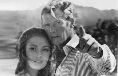 live_and_let_die_roger_moore_and_jane_seymour_on-set-in_jamaica