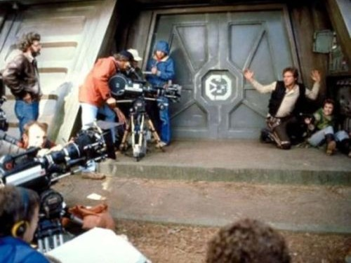 return_of_the_jedi_filming_han_and_leia_gaining_entry_into_the_shield_generator