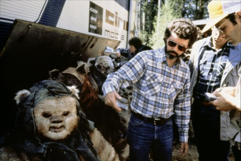 return_of_the_jedi_george_lucas_and_ewoks