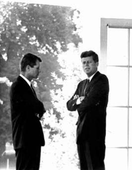 john_f_kennedy_assassination_jfk_and_rfk_in_discussion_outside_the_oval_office