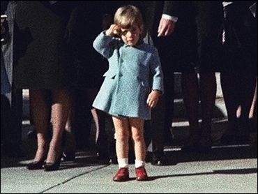 john_f_kennedy_assassination_john_f_kennedy_jr_at_his_father's_funeral_saluting_the_coffin_november_25_1963