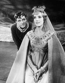 Julie Andrews and Richard Burton in