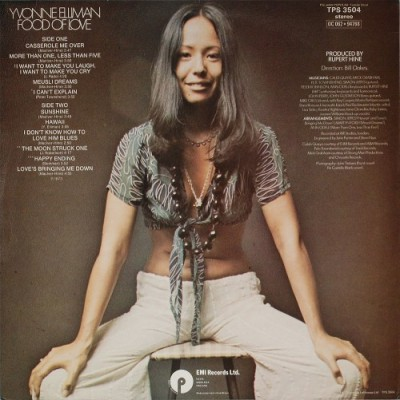 yvonne_elliman_food_of_love_album_cover