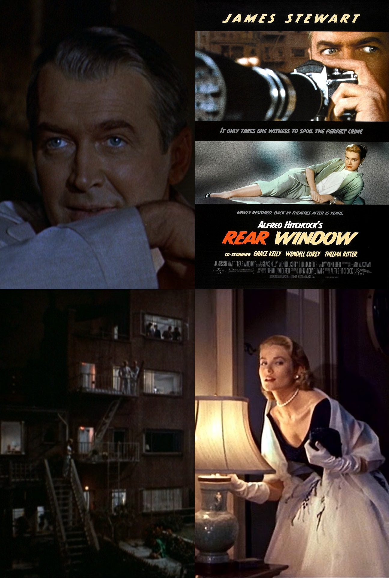 George s extended fourth birthday pick of the flicks for 1954 rear window