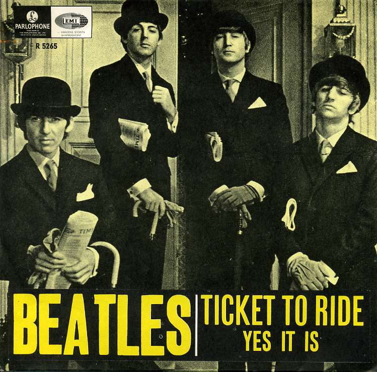Ticket To Ride The Beatles 1965