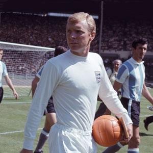 Bobby Moore, England captain, 1966