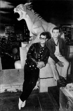 ghostbusters_dan_aykroyd_and_bill_murray_on-set