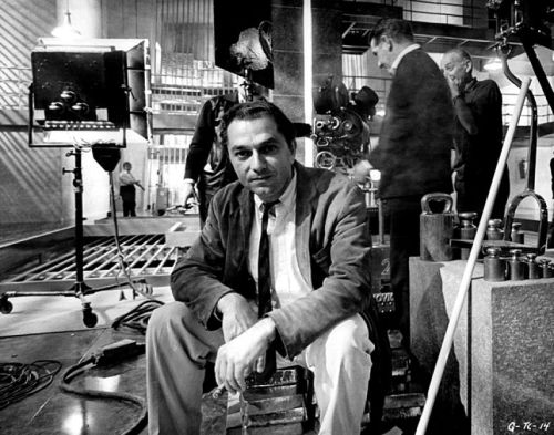 goldfinger_ken_adam_on_his_fort_knox_set_at_pinewood_studios