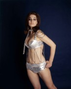 valerie_leon_silver_and_chains_bikini_outfit