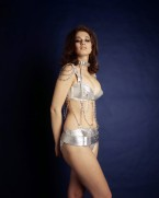 valerie_leon_silver_and_chains_bikini_outfit_4