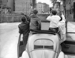 Mauerbau 1961 - Menschen an der Mauer