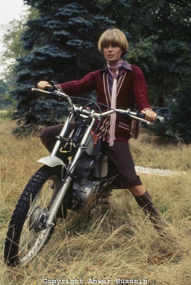 Purdey And Bike