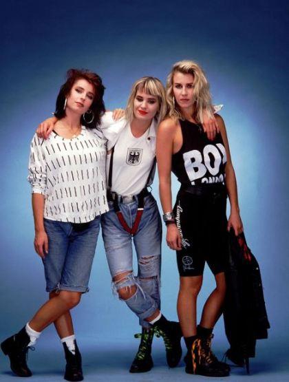 BANANARAMA 1988  EIGHTIES POP GROUP BANANARAMA GIRL BAND