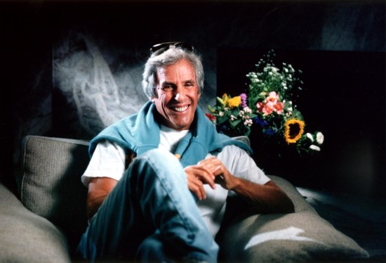 Burt Bacharach at his home in LA, USA