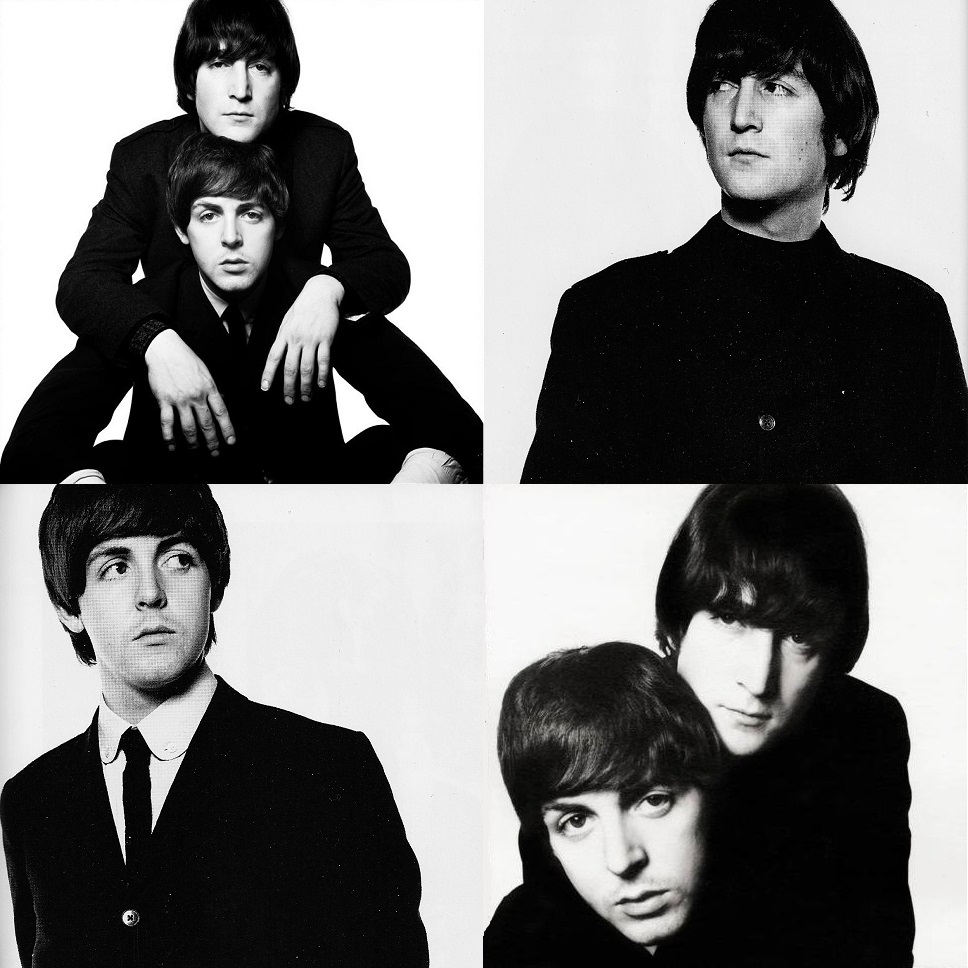 John Lennon And Paul Mccartney By David Bailey 1965