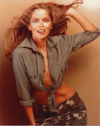 barbara_bach_top_and_khaki_bottoms