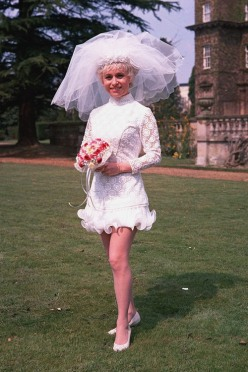 barbara_windsor_carry_on_again_doctor_wedding_dress