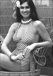caroline_munro_in_stripy_swimsuit