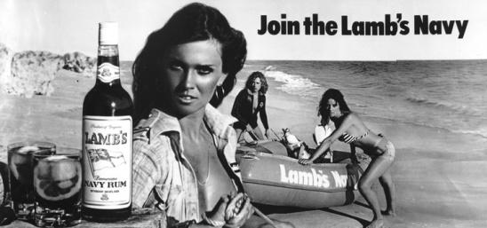 caroline_munro_lamb's_navy_rum_billboard_ad_2