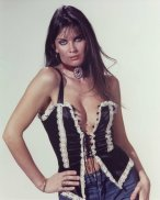 caroline_munro_posing_in_black_and_white_fringed_lingerie_2