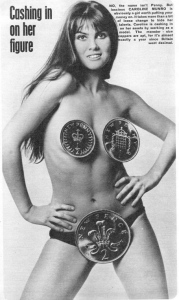 caroline_munro_'wearing'_pennies_1972