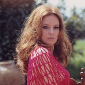 luciana_paluzzi_in_barely_there_pink_top