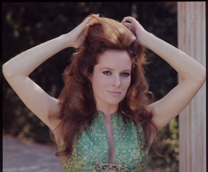 luciana_paluzzi_in_green_dress_1970s_2