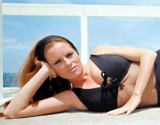 luciana_paluzzi_thunderball_black_mesh_swimsuit