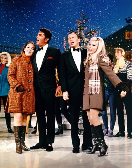 claudia_and_dean_martin_and_frank_and_nancy_sinatra_christmas